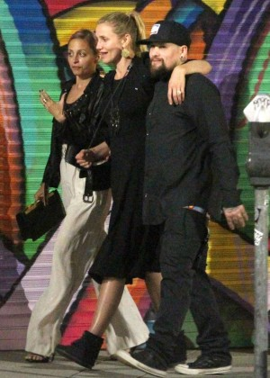 Cameron Diaz, Benji Madden and Nicole Richie out in West Hollywood