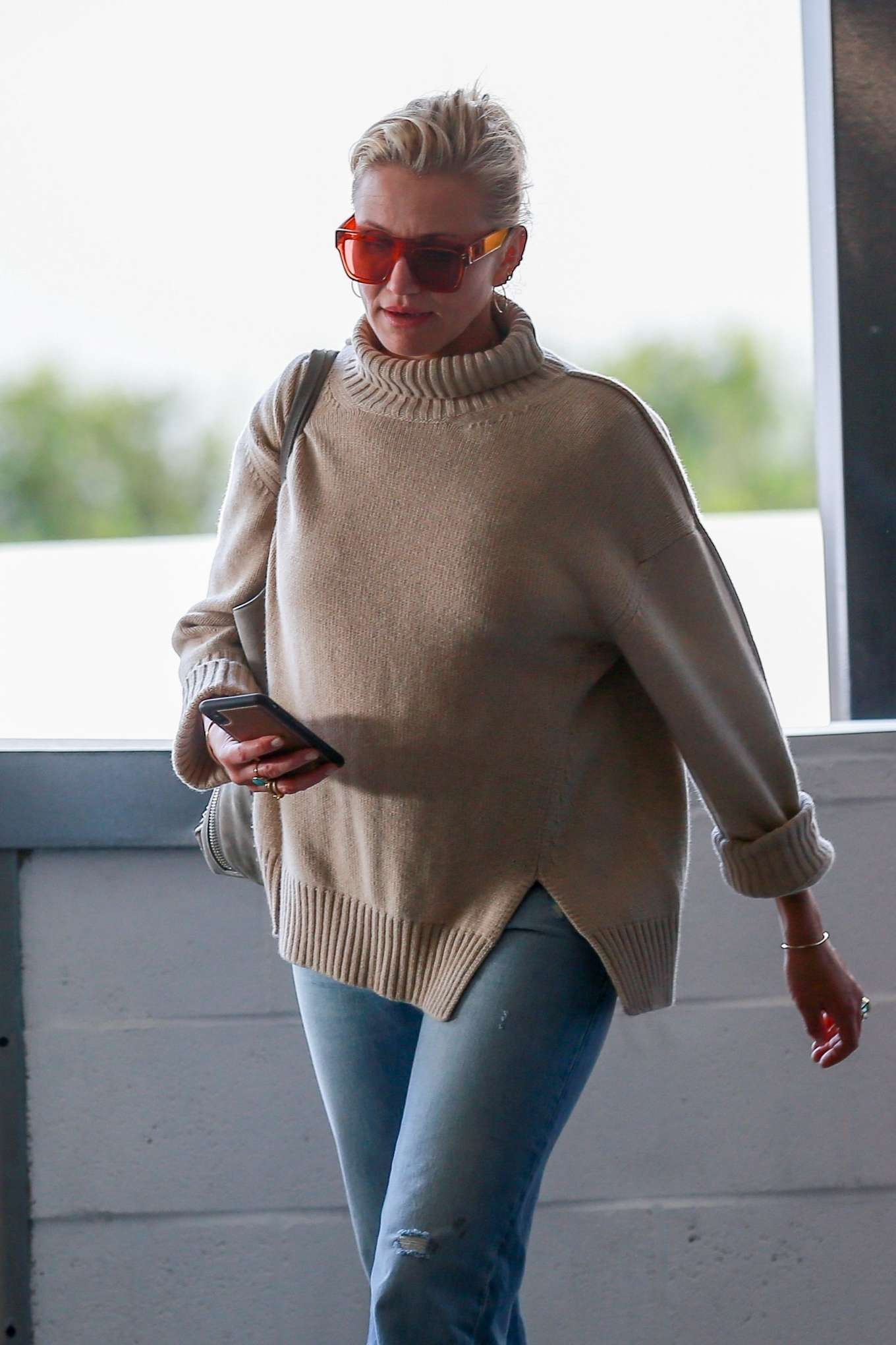 Cameron Diaz - Goes to lunch in los Angeles