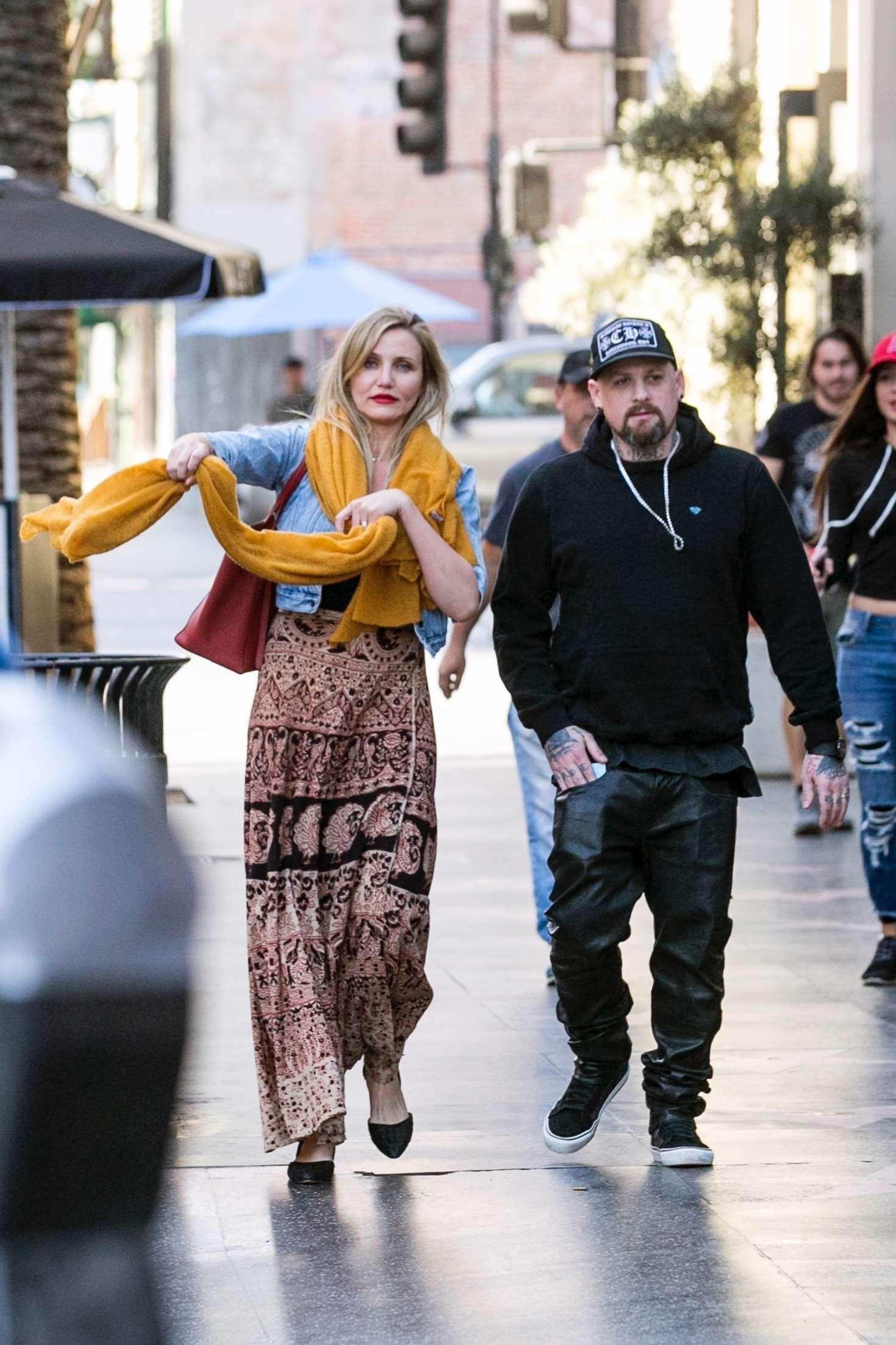 Cameron Diaz: Heading to see Hamilton with her husband -17 ...Cameron Diaz Husband 2017