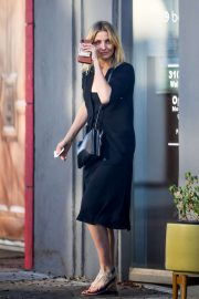 Cameron Diaz in Black Dress - Out in Los Angeles
