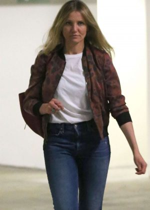 Cameron Diaz - Leaves a building after a meeting in Beverly Hills