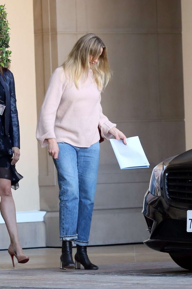 Cameron Diaz - Leaves the Montage in Beverly Hills