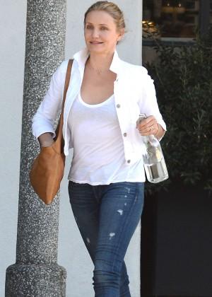 Cameron Diaz - Leaving Meche Salon in Los Angeles