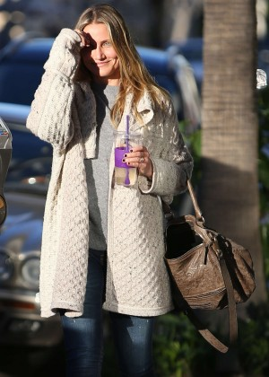 Cameron Diaz out in Beverly Hills