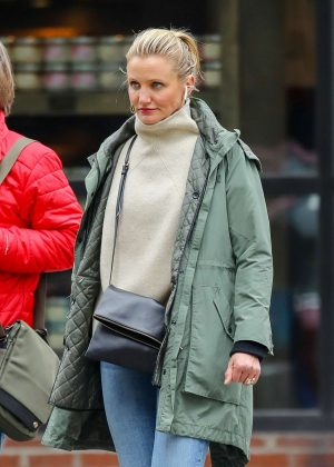 Cameron Diaz - Out in New York City