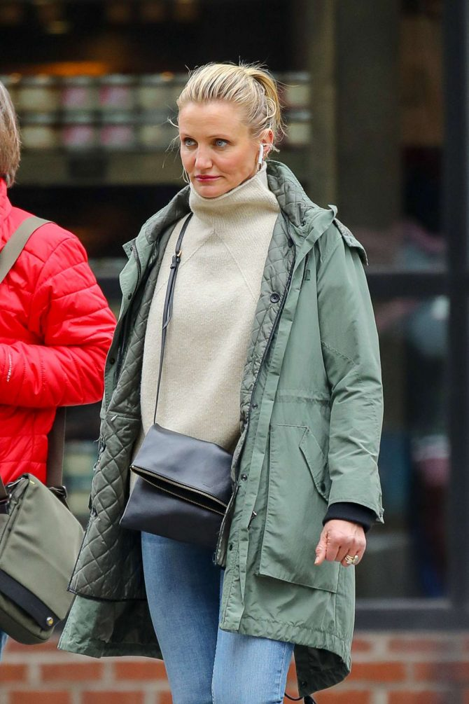 Cameron Diaz – Out in New York City