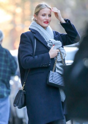 Cameron Diaz out in New York