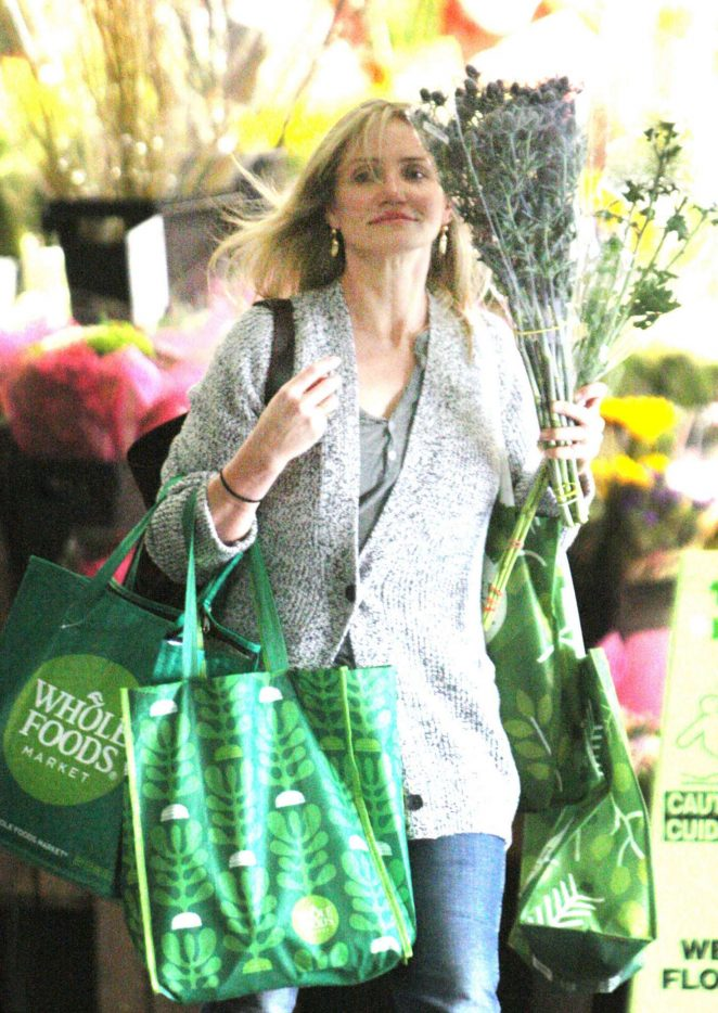 Cameron Diaz out shopping in Beverly Hills