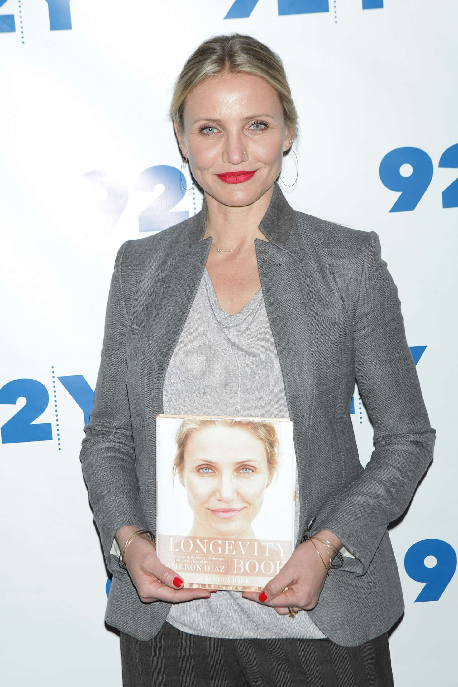 Cameron Diaz - Promotes 'The Longevity Book' at 92Y in New York