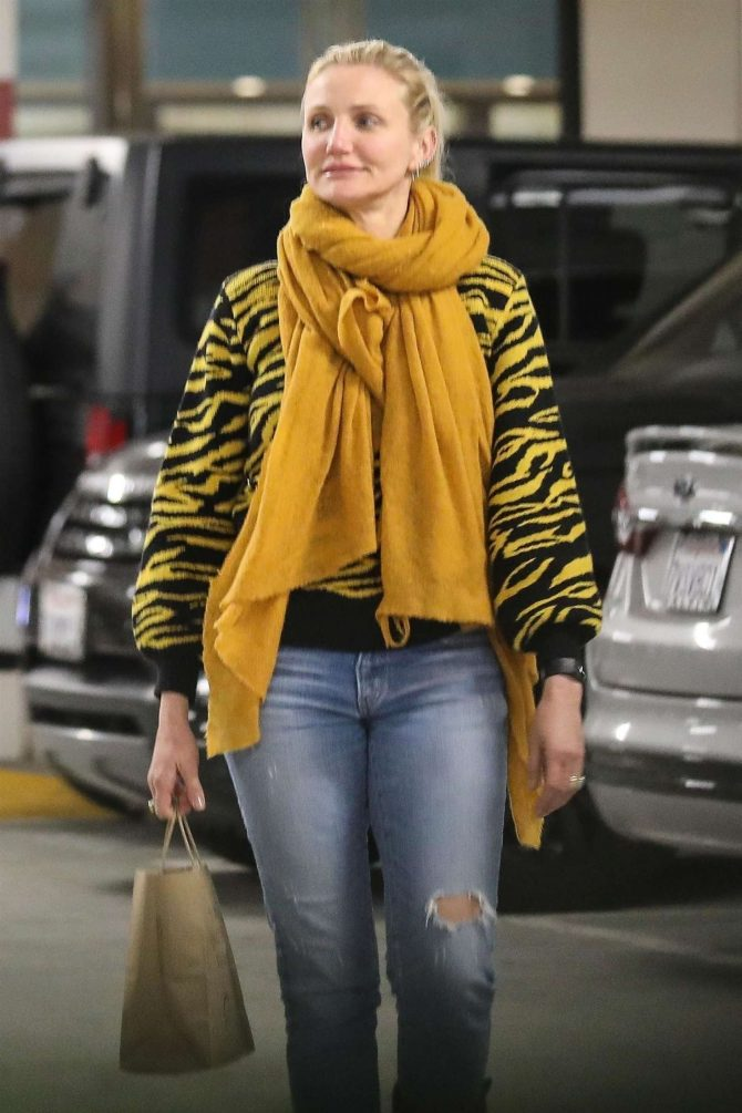 Cameron Diaz - Shopping in Beverly Hills