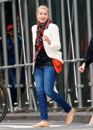 Cameron Diaz - Shopping in New York City
