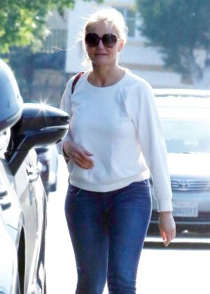 Cameron Diaz - Shopping in West Hollywood