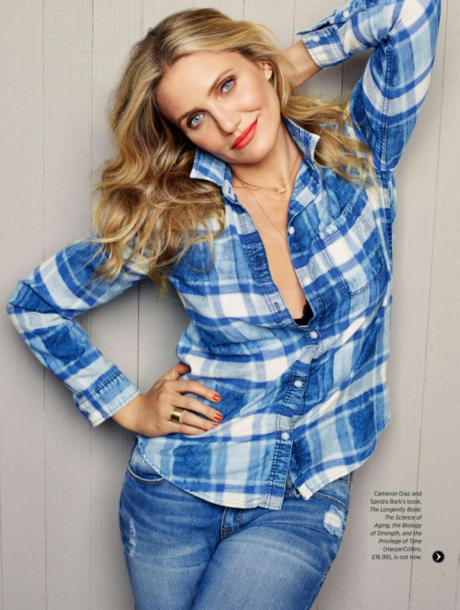 Cameron Diaz - Women's Health UK (May 2016)