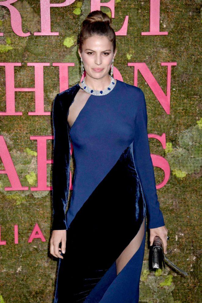 Cameron Russell - Green Carpet Fashion Awards 2018 in Milan