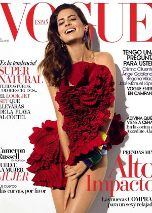 Cameron Russell - Vogue Spain Magazine (June 2015)