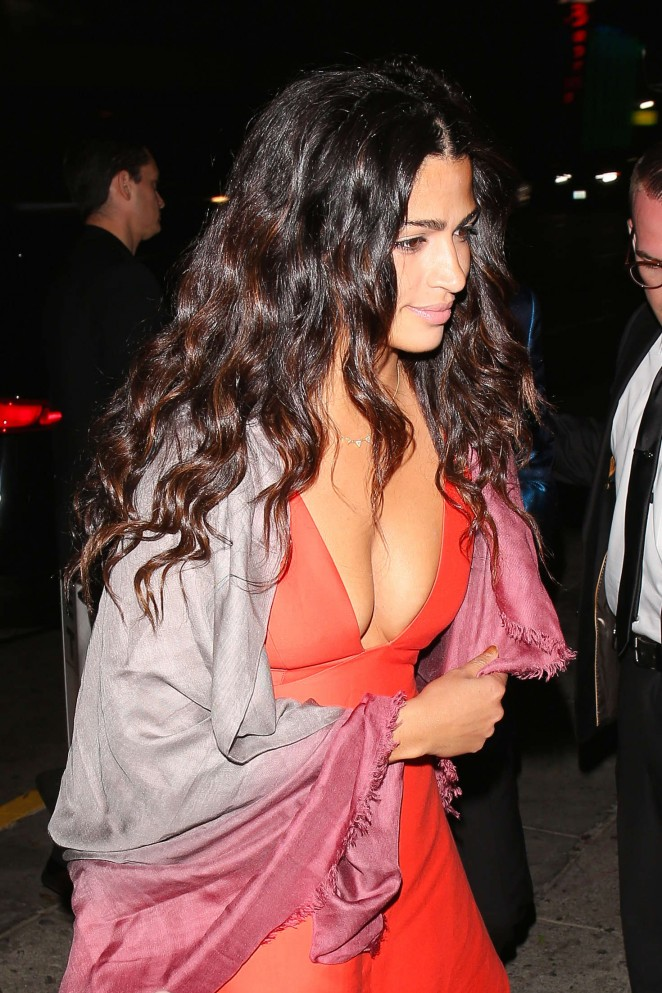 Camila Alves at Reese Witherspoon's 40th Birthday Party in Los Angeles