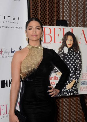 Camila Alves - Bella LA Summer Issue Cover Party in Beverly Hills