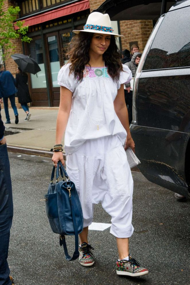 Camila Alves: Leaves Her Hotel in New York -01