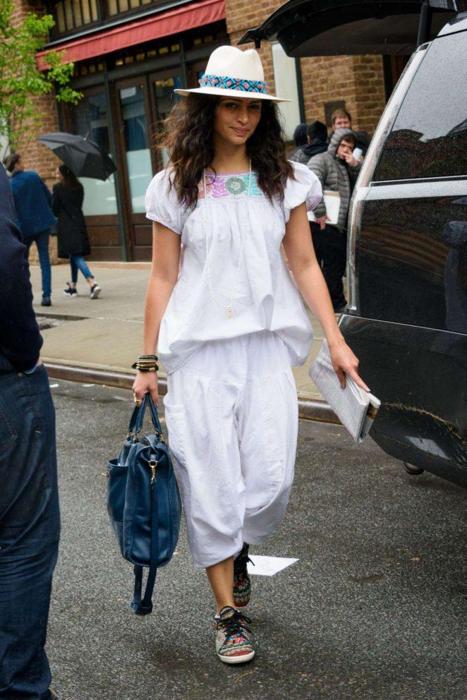 Camila Alves - Leaves Her Hotel in New York