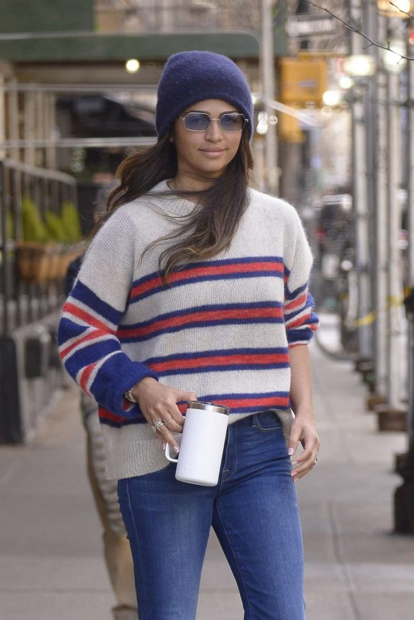 Camila Alves - Leaving the Greenwich hotel in New York
