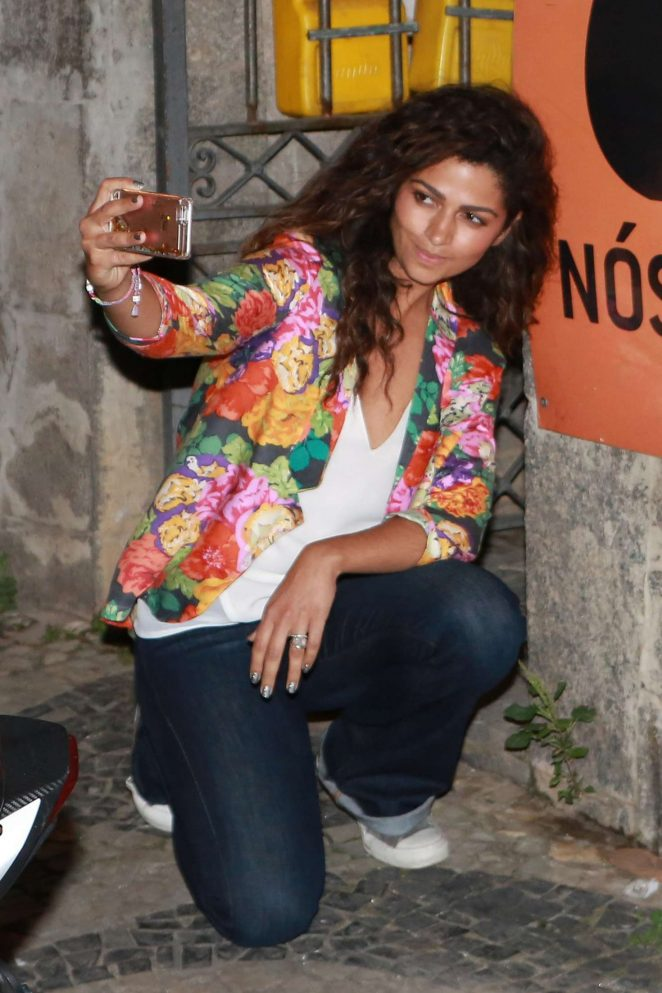 Camila Alves Night out in Rio de Janeiro