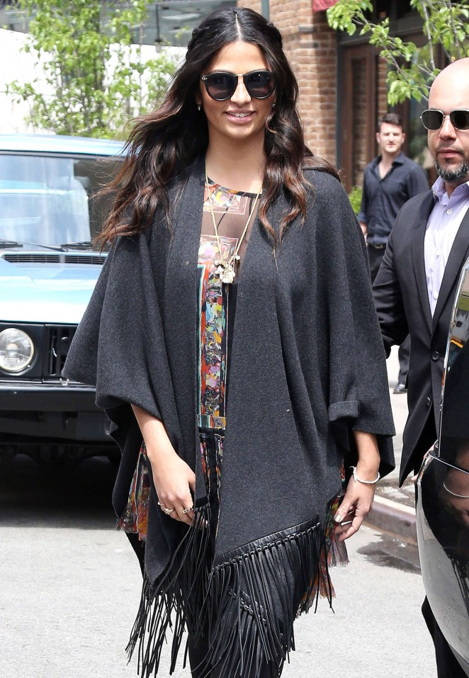 Camila Alves out and about in New York City