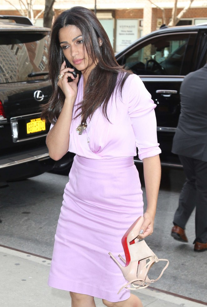 Camila Alves - out and about in New York City
