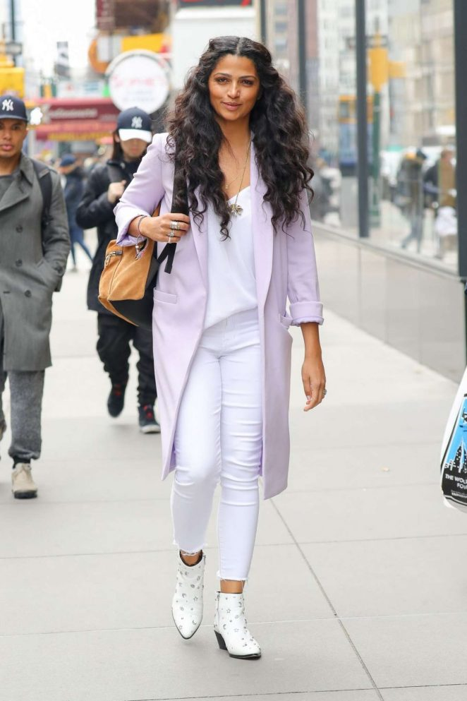 Camila Alves - Out in New York