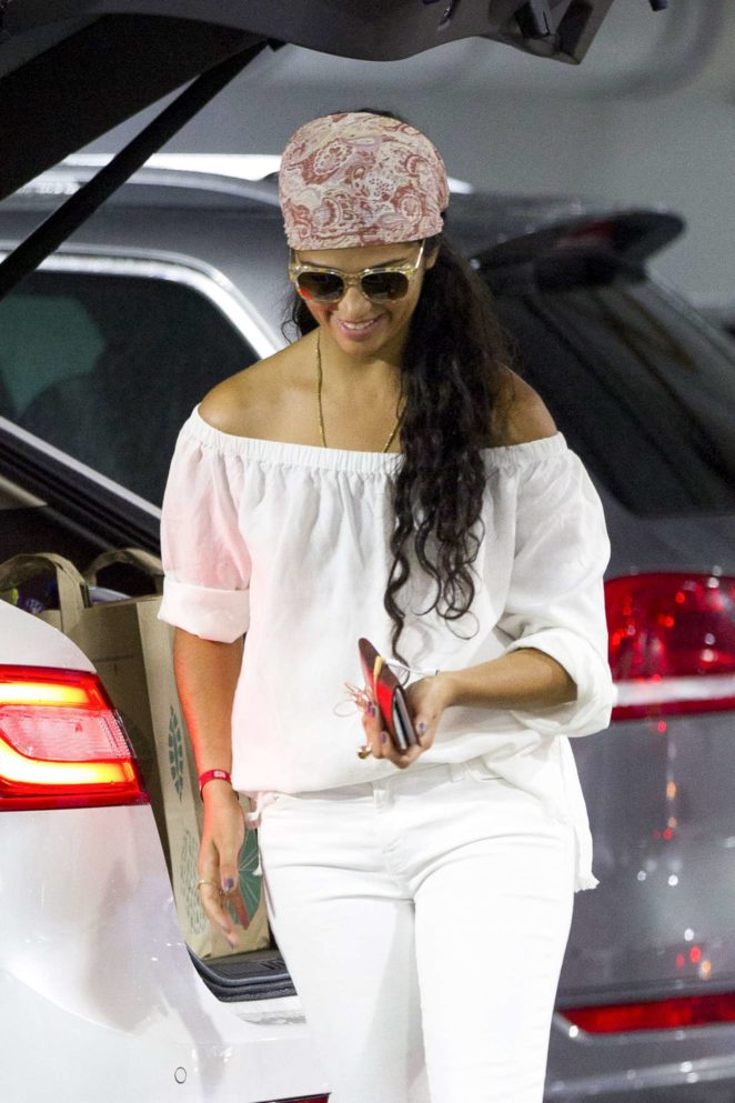 Camila Alves out shopping in Miami
