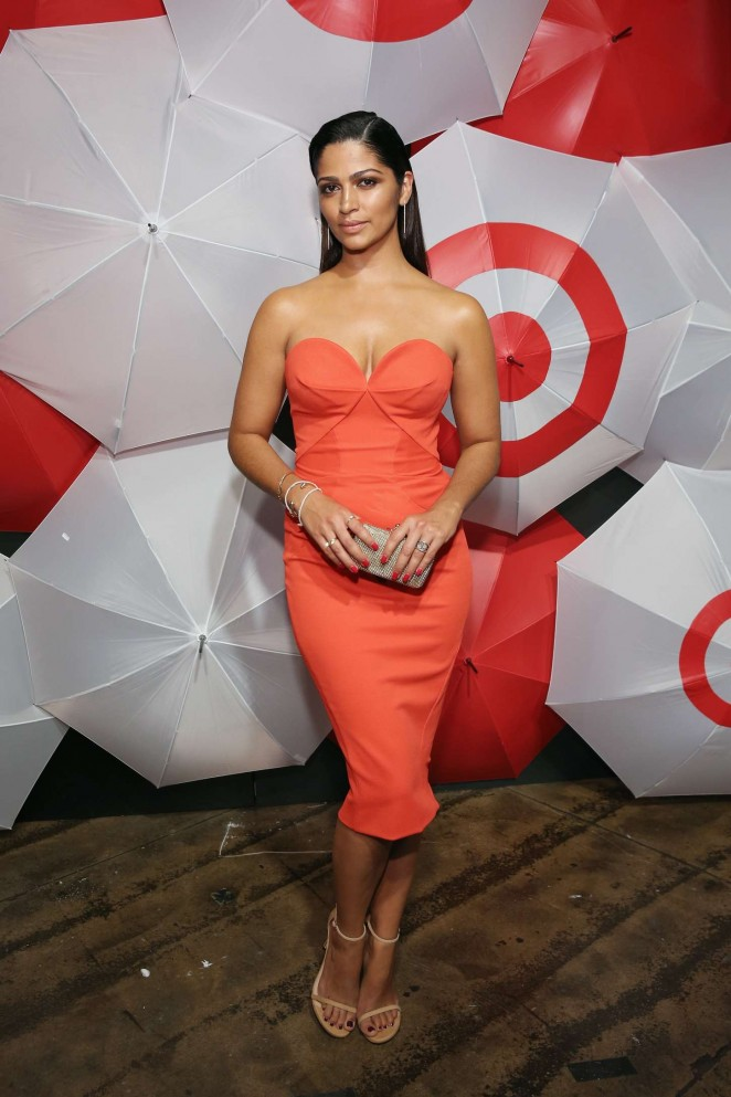 Camila Alves - TargetStyle in Vogue Fashion Week Event in NY