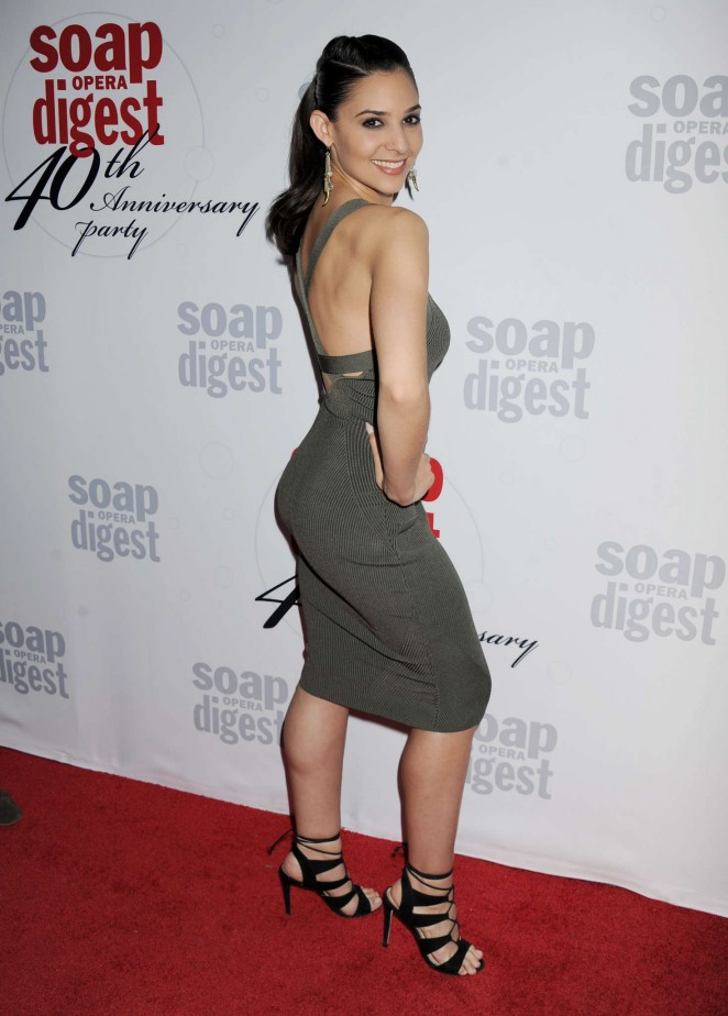 Camila Banus - The Soap Opera Digest's 40th Anniversary Event in Hollywood