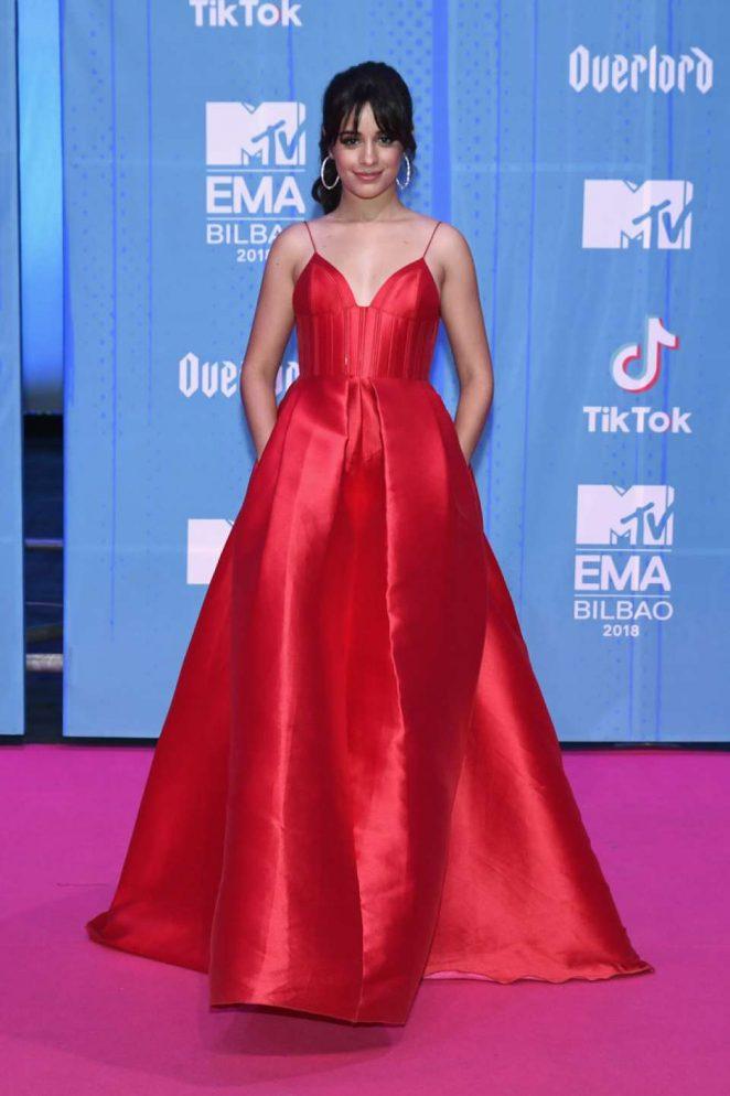 Camila Cabello - 2018 MTV Europe Music Awards in Bilbao