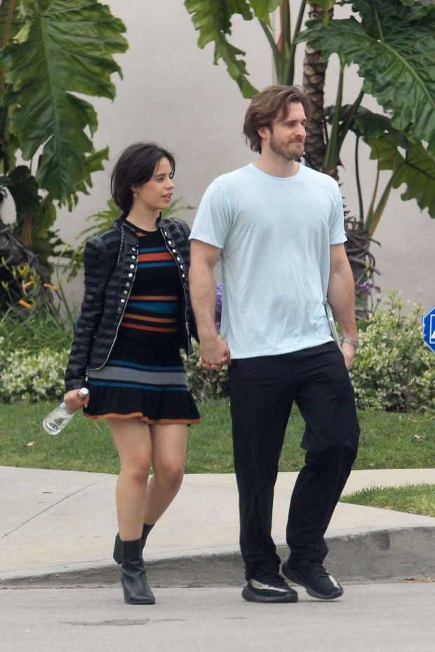 Camila Cabello and Matthew Hussey - Out for a walk in Hollywood