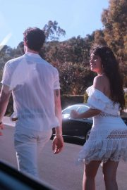 Camila Cabello and Shawn Mendes - Leaving a 4th Of July Party in LA