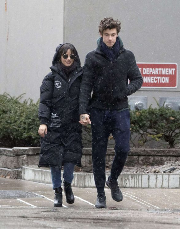 Camila Cabello and Shawn Mendes - Out on New Years day in Toronto