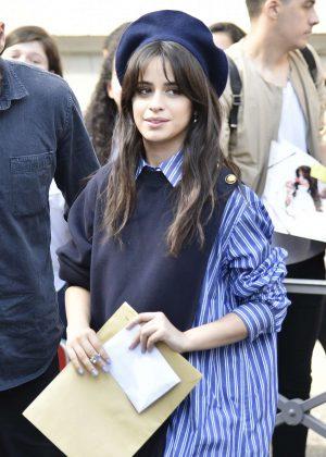 Camila Cabello - Arrives at radio station NRJ in Paris