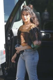 Camila Cabello - Arrives to a photoshoot in the Hollywood Hills in LA