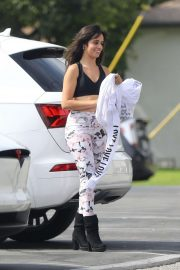Camila Cabello - Arrives to dance studio with her mother in LA