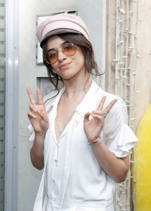 Camila Cabello - Arriving at her hotel in Paris