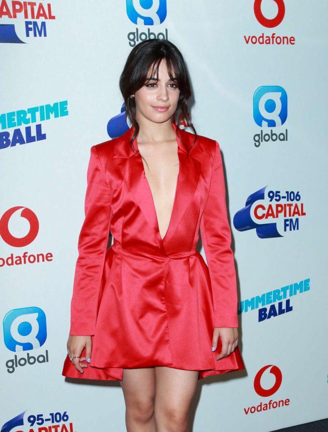 Camila Cabello - Capital Radio Summertime Ball 2018 in London