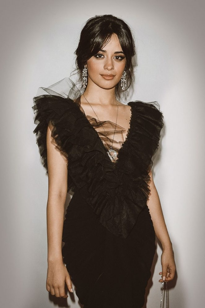 Camila Cabello - Clive Davis and Recording Academy Pre-GRAMMY Photoshooot in NYC