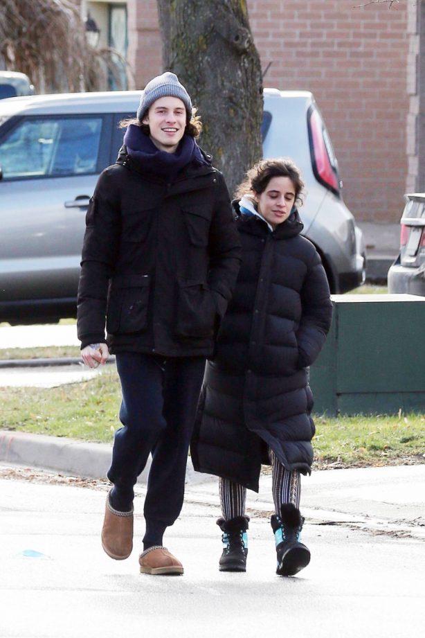 Camila Cabello - Going for a walk in Pickering