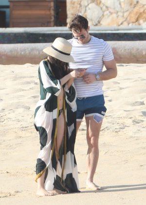 Camila Cabello In Bikini With Matthew Hussey At The Beach In Cabo GotCeleb