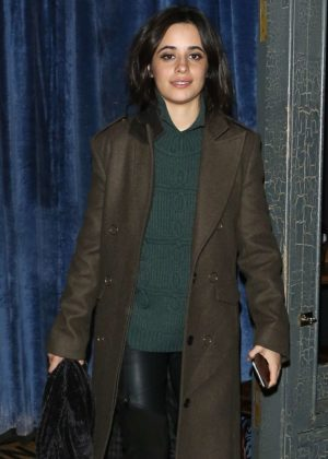 Camila Cabello - Leaves balans soho society restaurant in London