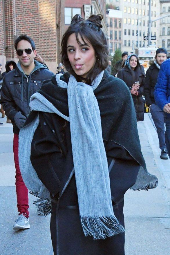 Camila Cabello - Leaves Z100 studios in New York