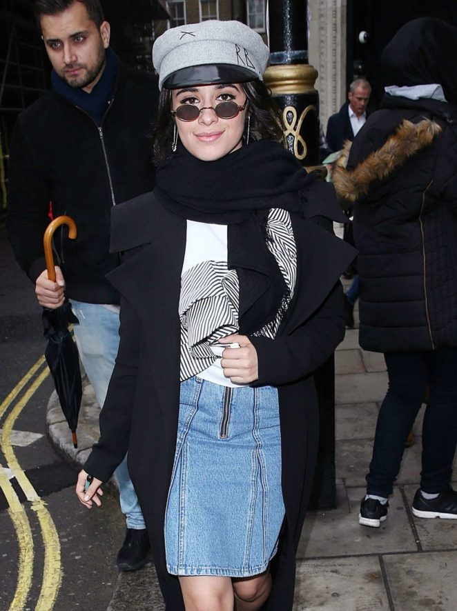 Camila Cabello - Leaving BBC Radio in London