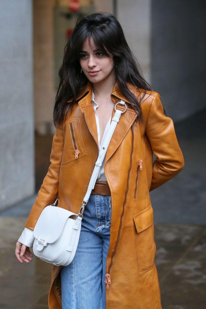 Camila Cabello - Leaving BBC Radio One in London