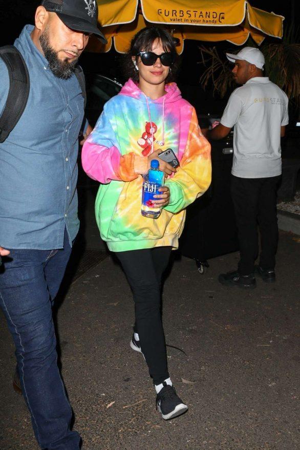 Camila Cabello - Leaving for the iHeartRadio Festival in Las Vegas