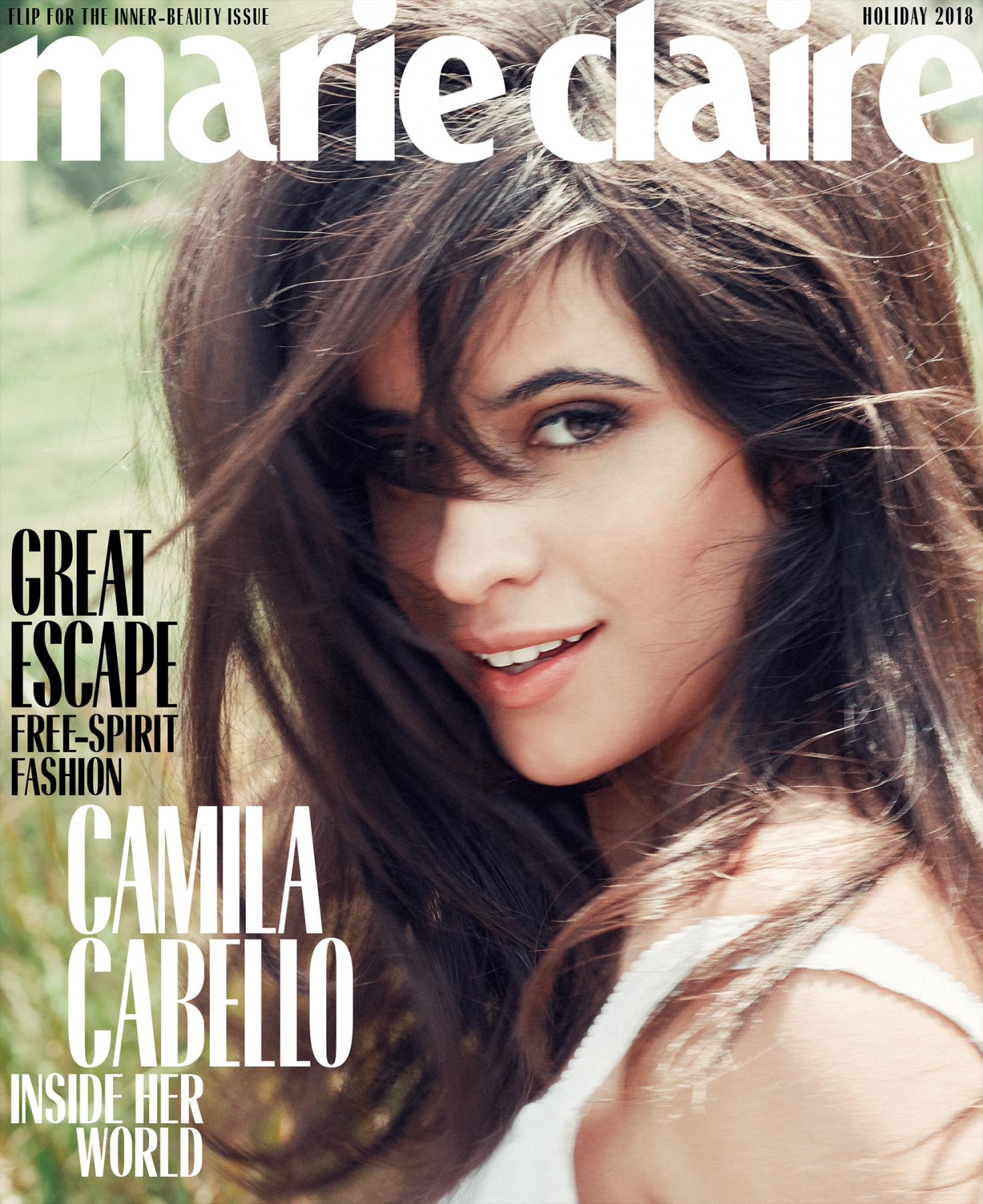 Camila Cabello - Marie Claire US Magazine 2018