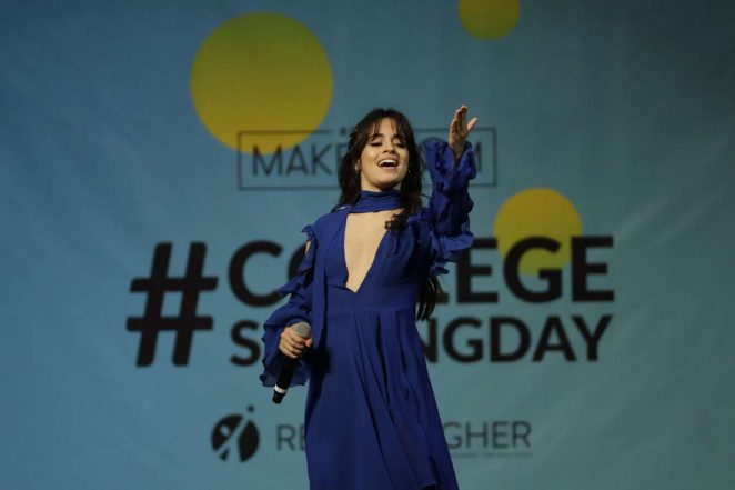 Camila Cabello - Michelle Obama Hosts the 5th National College Signing Day in Philadelphia